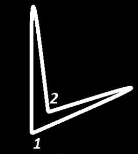 Схема двухдольной сетки дирижирования